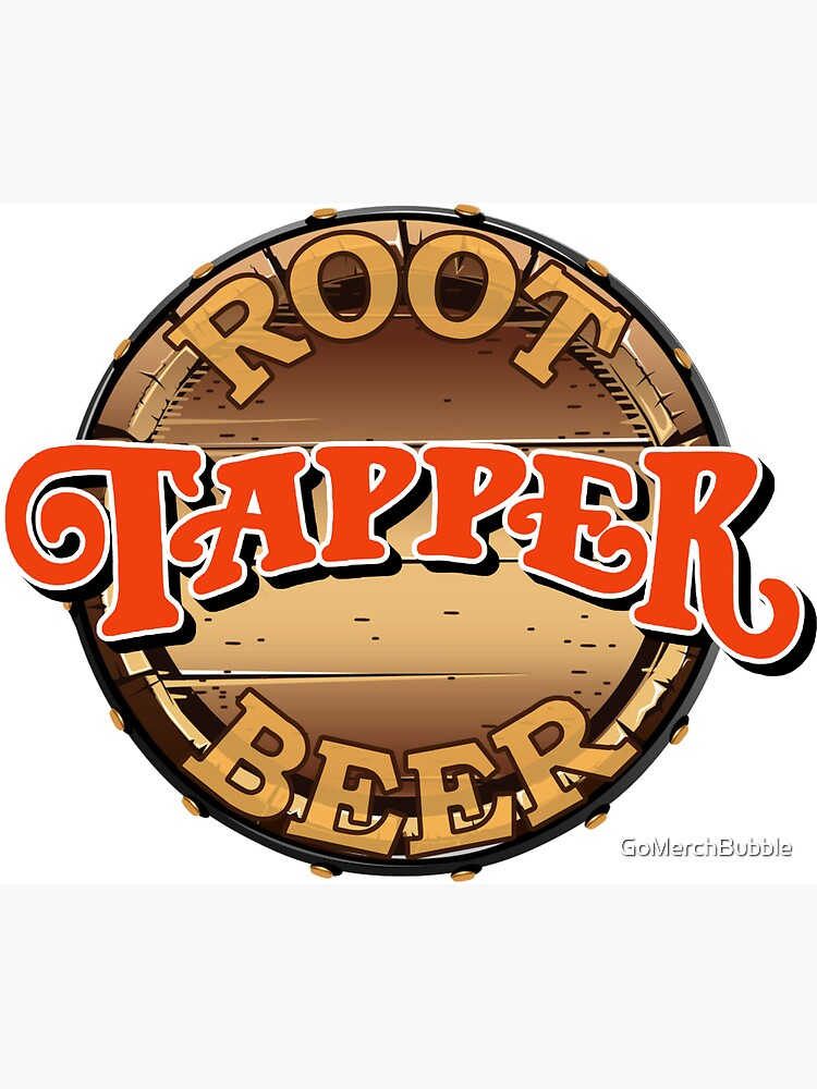 Root Beer Tapper by GoMerchBubble