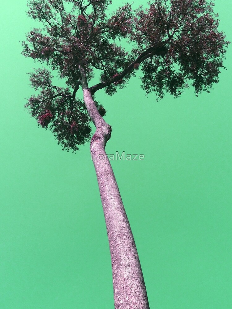 Tree in Green by LoraMaze