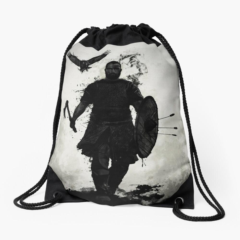 To Valhalla Drawstring Bag