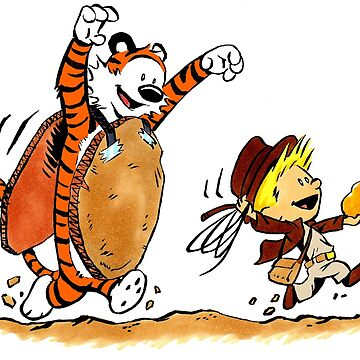 Parody Calvin Jones and Boulder Hobbes by Sketchbooks