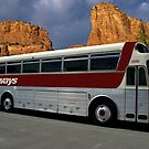 Continental Trailways Bus #13542 by TeeMack
