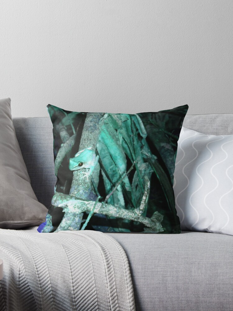 Frog in Turquoise by LoraMaze