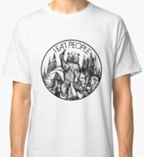 Camping I Eat People Vintage T Shirt Classic T-Shirt