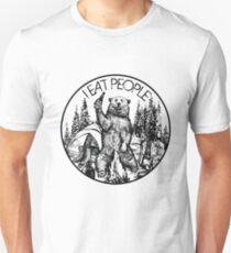 Camping I Eat People Vintage T Shirt Unisex T-Shirt