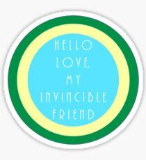 Hello Love Sticker