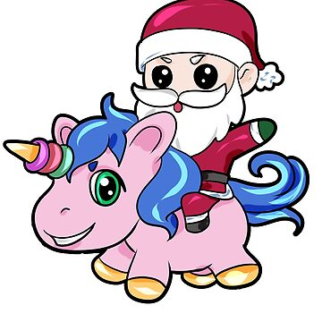 Santa Claus Unicorn by Moonpie90