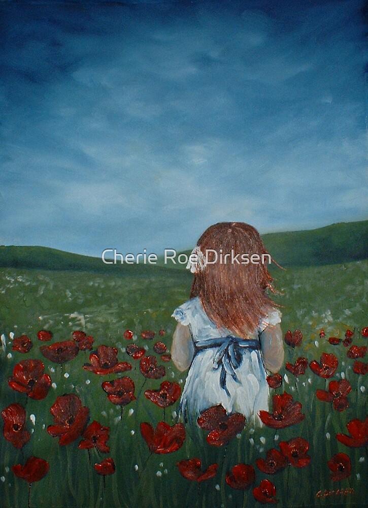 Girl in Poppy Field by Cherie Roe Dirksen