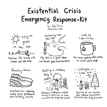 Existential Crisis Emergency Response Kit by wanungara