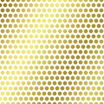 Patterns 'Birds eyes' - gold. by timothybeighton