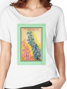 Vintage French Seed Packet Women's Relaxed Fit T-Shirt