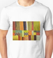 Color and Pattern Abstract T-Shirt