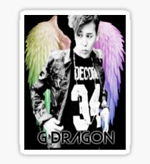 Jiyong w/ Angel Wings  Sticker