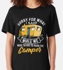 Camiseta ajustada Aparcamiento The Camper