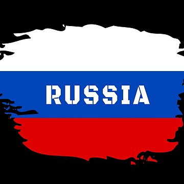 Russia flag national flag gift by Rocky2018