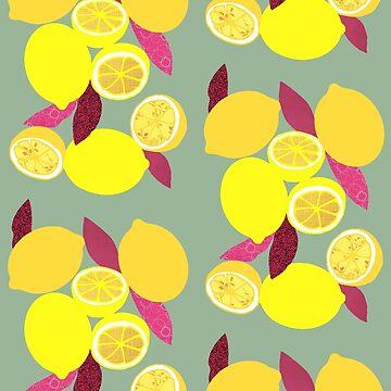 Lemons by kaillustration