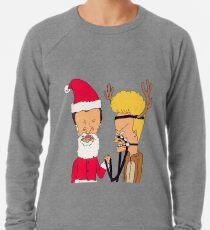 Beavis Butthead Christmas Cosplay Lightweight Sweatshirt