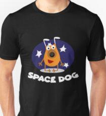 Camiseta ajustada Perro espacial