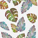 Tropische Blätter von Claudia Brüggen