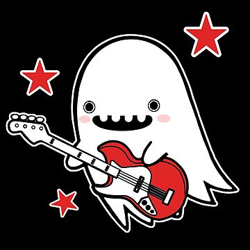 Ghost Guitar by SarahJoncas