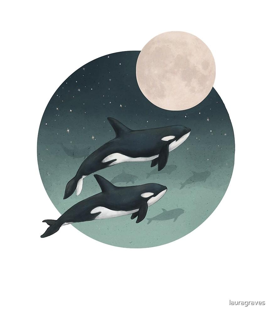 moonlight caravan // orcas by lauragraves