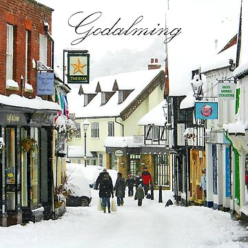Freezing Godalming in the Snow by Picturestation