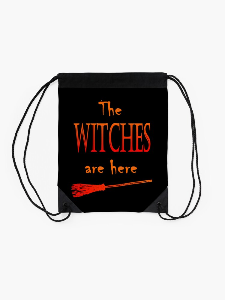 Alternative Ansicht von Die Hexen sind da Turnbeutel