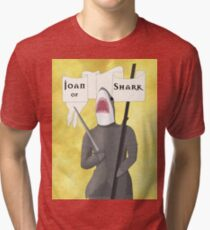 Joan of Shark Tri-blend T-Shirt