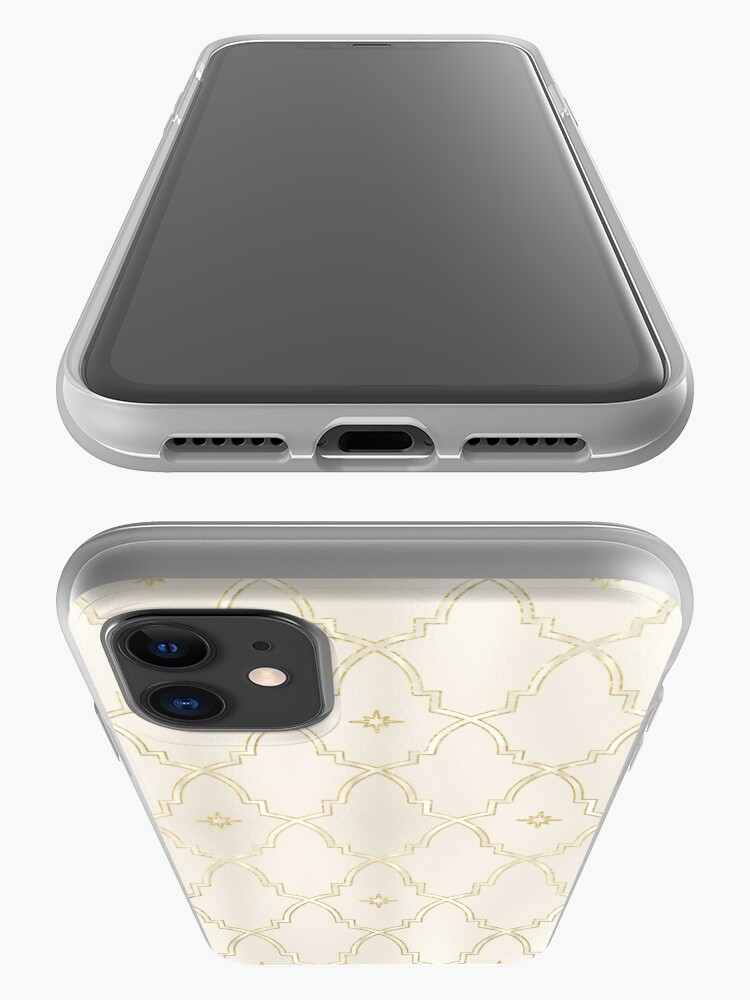 Alternate view of Celestial Pearl Gold Arches iPhone Case & Cover