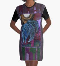 Black Eyed Susan Graphic T-Shirt Dress