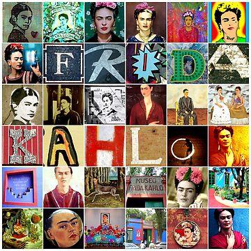 Frida Kahlo Collage by edleon