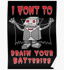 Robot Vampire Poster