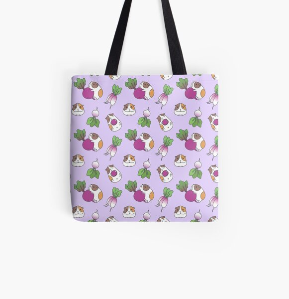 Guinea Pig Pattern All Over Print Tote Bag