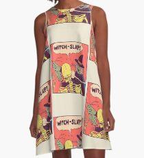 Witch-Slap A-Line Dress