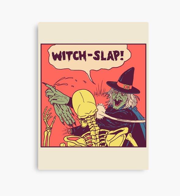 Witch-Slap by wytrab8