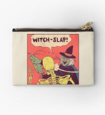 Witch-Slap Zipper Pouch