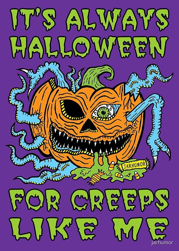 Halloween Creep by jarhumor