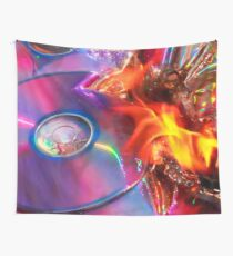 Burnt CD - New Ugly Wall Tapestry