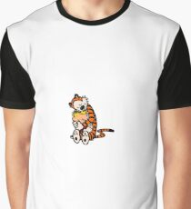 Calvin and Hobbes BFFs Graphic T-Shirt