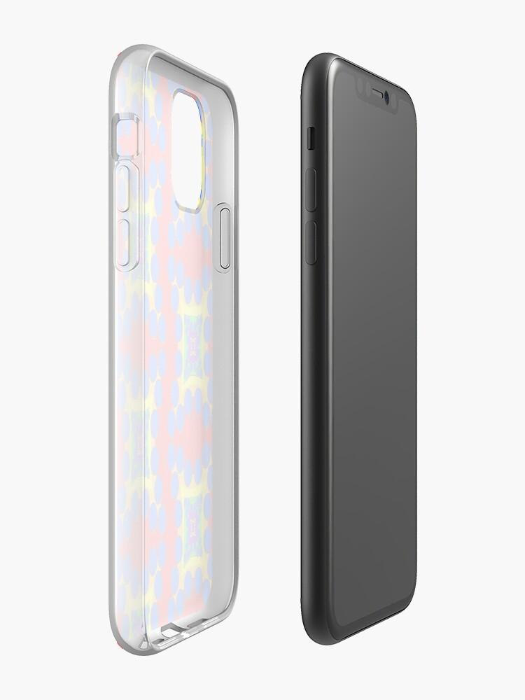 Coque iPhone «Points arc-en-ciel», par JLHDesign