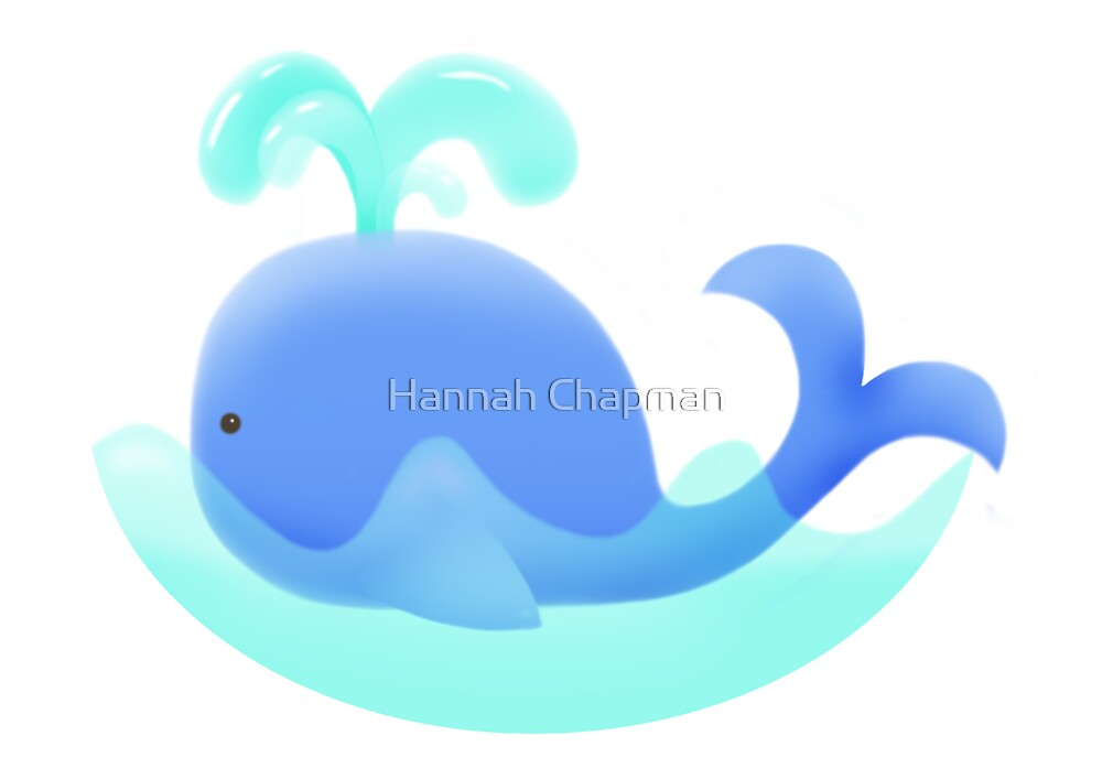 Whale of a time ... by Hannah Chapman