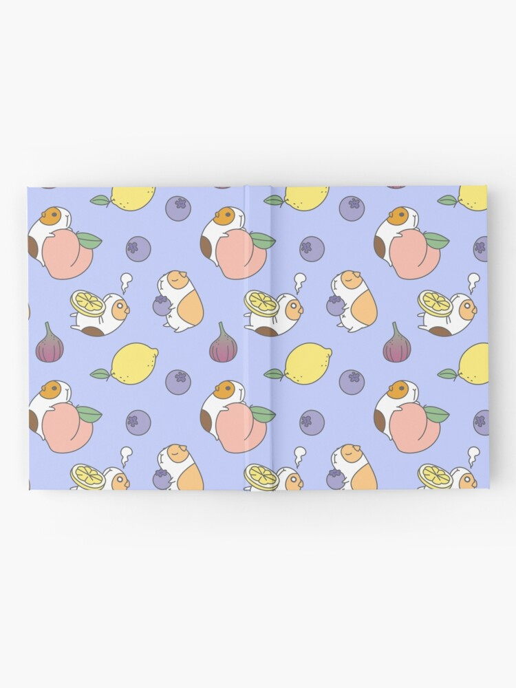 Alternate view of Guinea pig and blueberry  Hardcover Journal