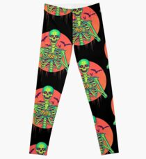 I Love Halloween Leggings