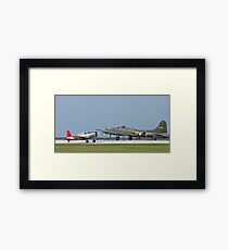 Two WWII Aircraft Framed Print