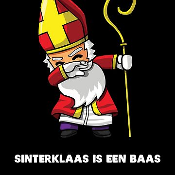 Dabbing Sinterklaas is een Baas by cl0thespin