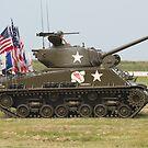 Sherman Tank by Karl R. Martin