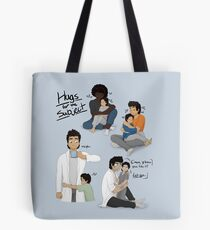 Hugs for the Subject! Tote Bag