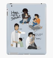 Hugs for the Subject! iPad Case/Skin