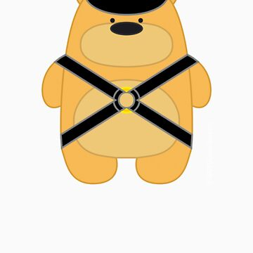 Bear Toy - Leather Blond by Dubon