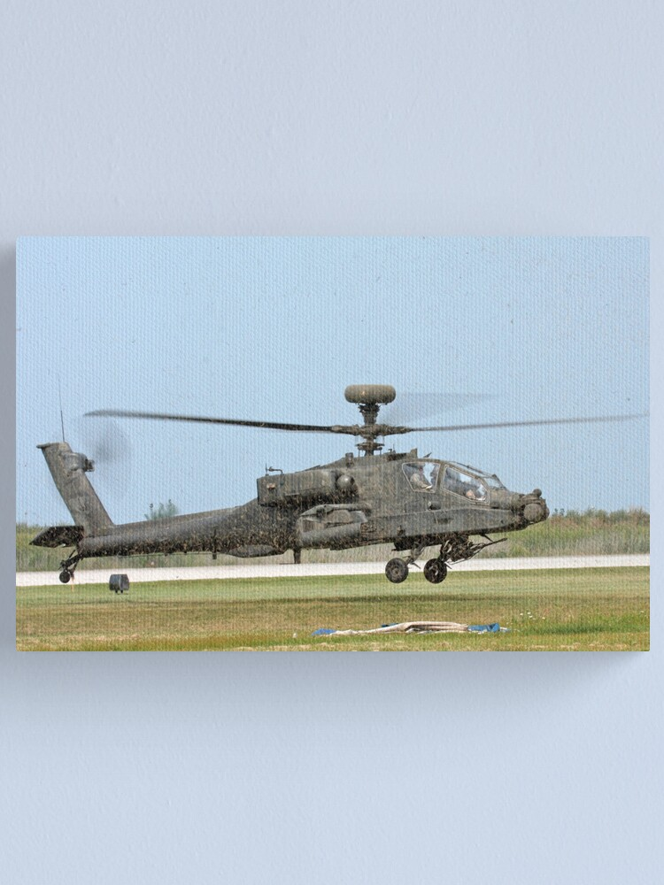 Alternate view of Apache Longbow Canvas Print