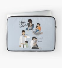 Hugs for the Subject! Laptop Sleeve